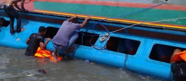 18 rescued, four still missing in election day boat mishap in Delta
