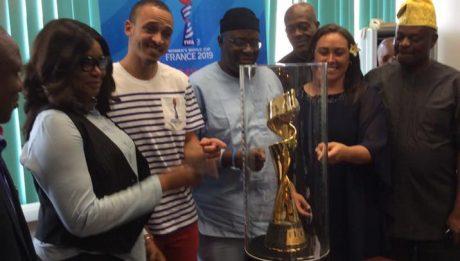 FIFA Women's World Cup Trophy: Pioneers of women's football development in the country have been eulogized for their commitment to raising the standard of the game.