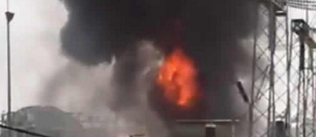 Fire Engulfs Power Transmission Station In Abuja