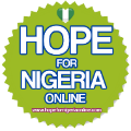 Hope for Nigeria
