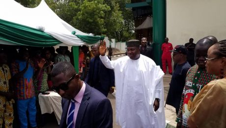 Ugwuanyi Preaches Peace, Love, Unity, Progress