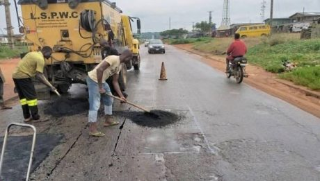 Repair Of Potholes Across The State