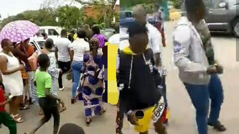 Soldier Rescues Man In Benin, As SARS Tried Extorting Him For Having Dreadlocks