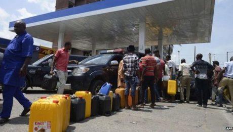 scarcity of Premium Motor Spirit