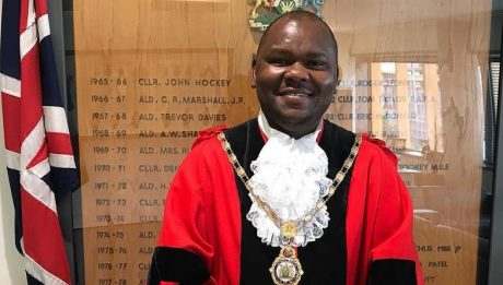 Black Mayor Of London Borough Of Brent