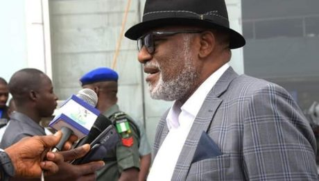 Akeredolu Returns From Thailand
