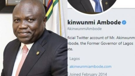 Ambode changes Twitter bio to 'Former Governor of Lagos State'
