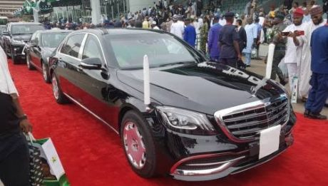 Buhari's New Inauguration Car