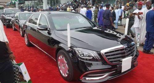 Buhari's New Inauguration Car