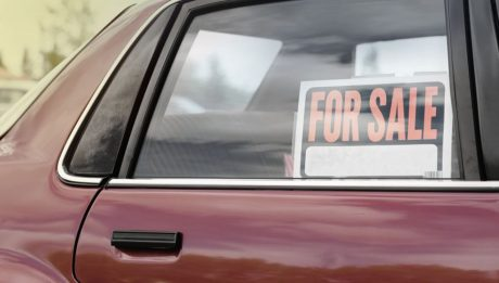 """For Sale"" Sign On Moving Vehicles Illegal"