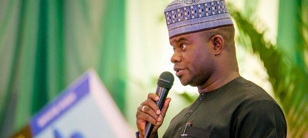 Governor Yahaya Bello has made a U-turn, saying he is not owing any worker a dime in his four-year tenure.