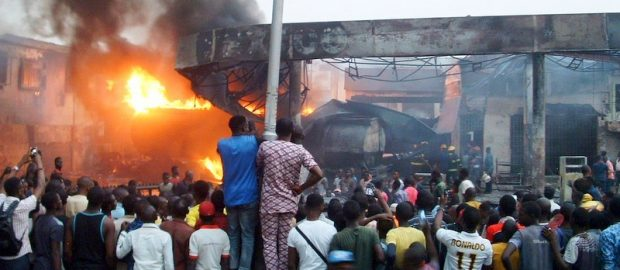 Traders Count Losses As Fire Destroys Goods Worth N50m