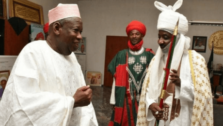 Ganduje Puts Off Emir Sanusi's Visit For Security Reasons