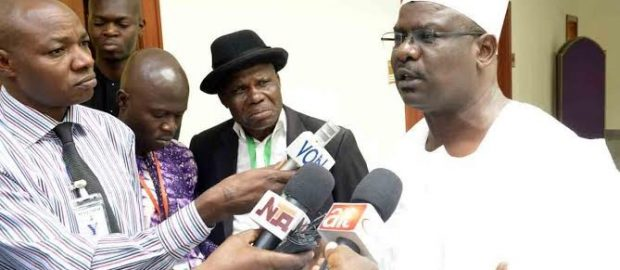 Ndume Speaks On Withdrawing From Senate Presidency Race For Lawan