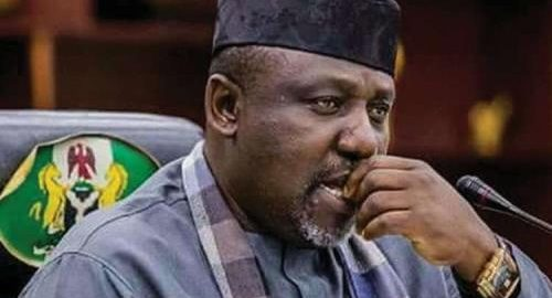 Okorocha Arrives National Assembly, Denied Accreditation