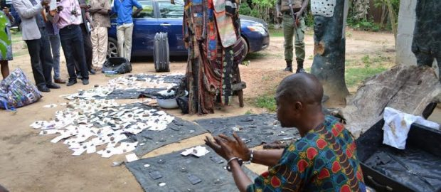 Police Discover Shrine In Oyo