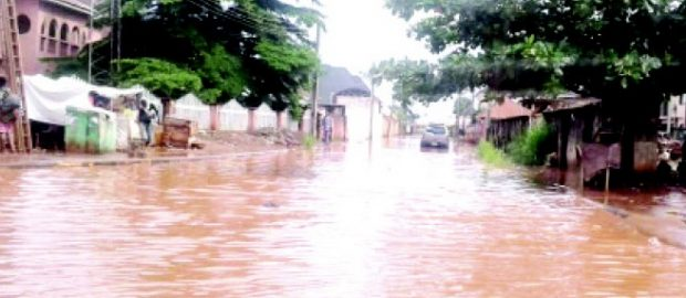 130 houses washed away by flood in Gombe