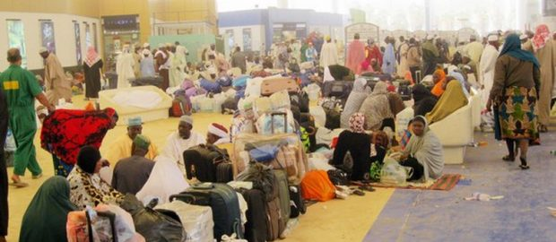Nigerian Pilgrims from 21 states now in Saudi Arabia