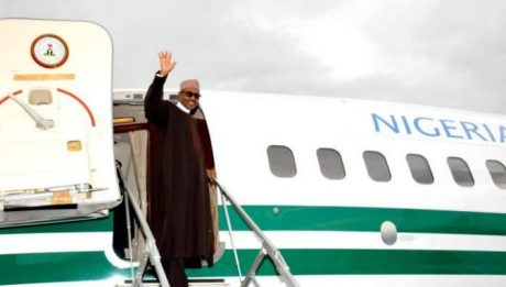 President Buhari Jets Out Of Nigeria For Liberia's 172nd Independent Anniversary