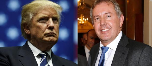 Trump Calls Kim Darroch, UK Ambassador A Very Stupid Guy