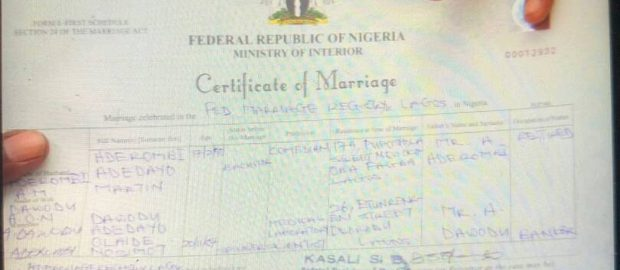 We'll Legalise Unlicensed Worship Centres' Marriage Certificates