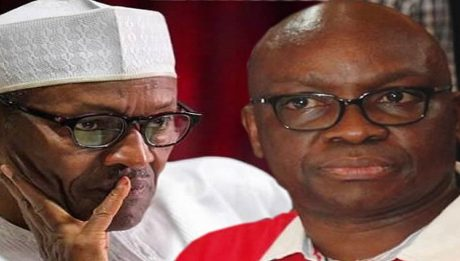 Fayose Speaks On Congratulatory Message To President Buhari Over Tribunal Victor