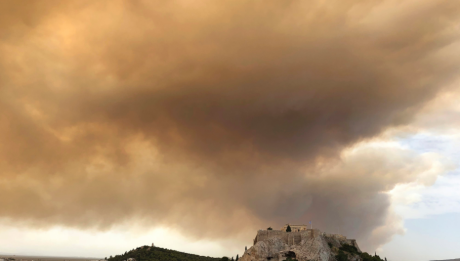 Forest Fires Greece