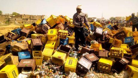Kano Hisbah destroys 196, 400 bottles of alcohol