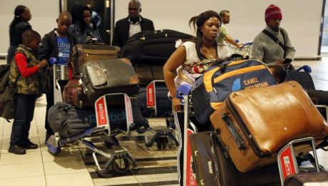 Nigerians desperate to flee SA