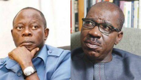 Oshiomhole: I'm not plotting Obaseki's impeachment