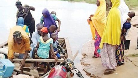 38 persons drowned in Kirfi River
