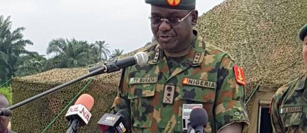 Buratai orders aggressive postures against bandits, criminals, harps on human rights