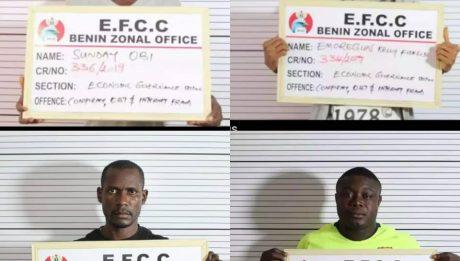 EFCC Arrests 4 For Forging EFCC Documents