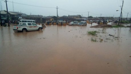 Floods On Agric-Ishawo Roads