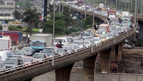 Lagos government shuts down Costain Bridge