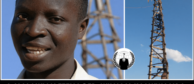 Malawian Teen Taught Himself How To Build A Windmill From Junk