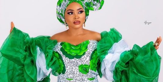 Mercy Aigbe's 59th Independence Outfit