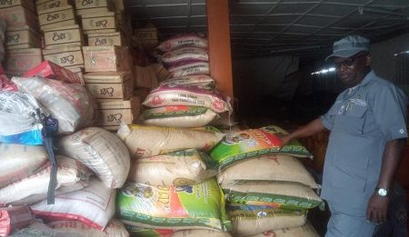 Customs seize N276 million goods in Bauchi