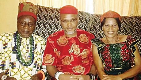 Nnamdi Kanu's Mother Dies