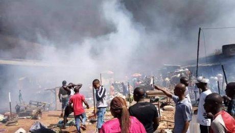 Onitsha fire outbreak