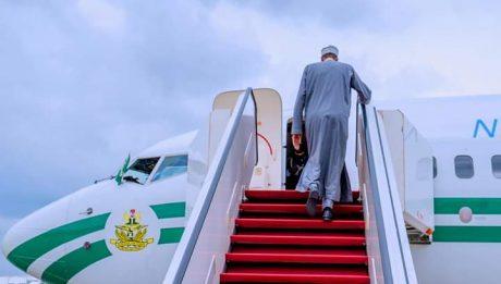 Buhari returns to London