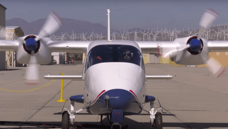 first all-electric X-plane
