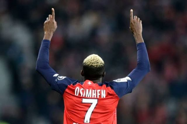 Victor Osimhen, Lille