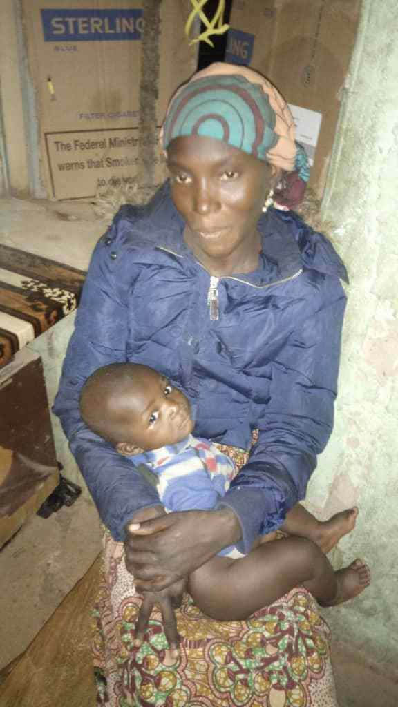 Police rescue woman, 7 months old baby from Kidnappers