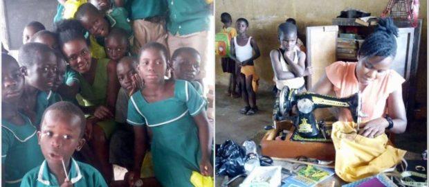 Meet Ghana female teacher