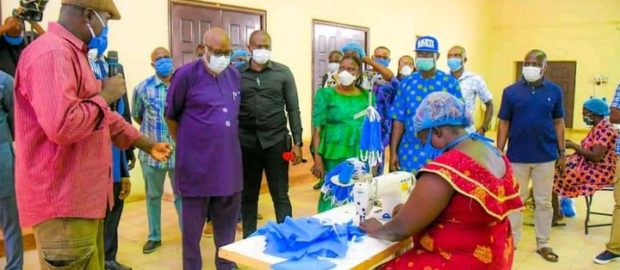 Face Mask Production Center In Akure