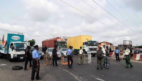 How police, military extort at COVID-19 checkpoints