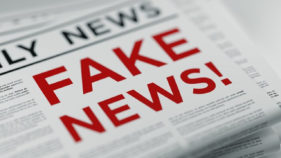 Rise in fake news