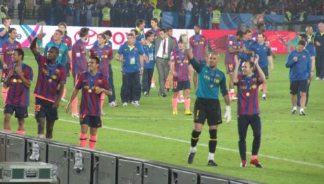 Barcelona players