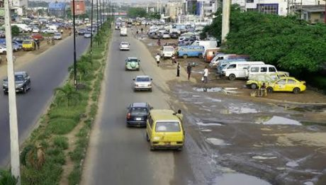 Nigerian Roads Don't Have Lane Markings
